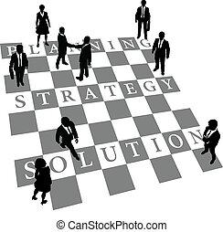 人々, 解決, 作戦, 計画, チェス, 人間