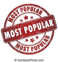 人気が高い, ほとんど, 切手