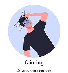 人, 徴候, disease., fainting., 人, dizziness., 病気
