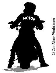 人, 若い, moto