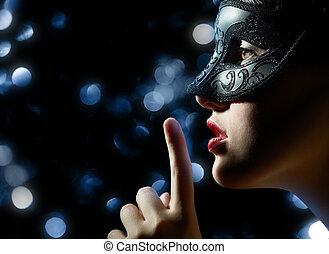 仮面舞踏会の マスク