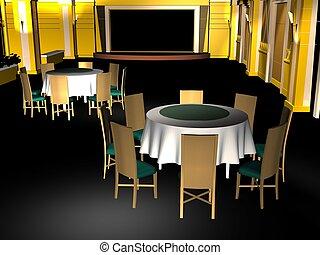 会議室, 古典である