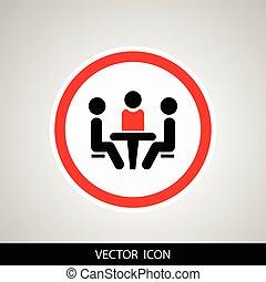 会議, icon.