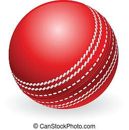 伝統的である, コオロギの 球, 光沢がある, 赤
