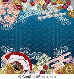 伝統的である, パターン, 日本語