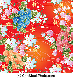 伝統的である, patte, seamless, 日本語