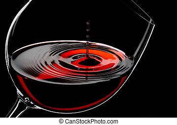 低下, ワイン