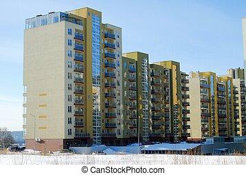 住宅の, ブロック, perkunkiemis