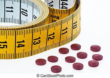 体, 縮小, タブレット, 重量