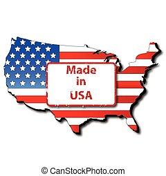 作られた, アメリカ