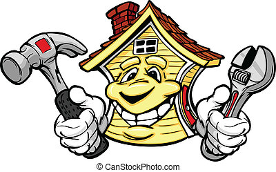 保有物, 家, 修理, 道具, 幸せ