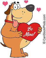 保有物, 心, の上, 赤い犬