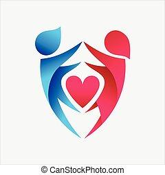 保護, 愛, ベクトル
