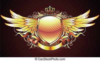保護, 金, heraldic