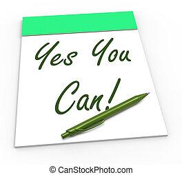 信頼, self-belief, メモ用紙, 缶, はい, あなた, ショー