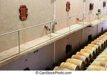 倉庫, ワイン