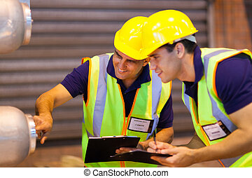 倉庫, 協力者, 点検, 機械類