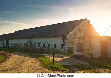 倉庫, 古い