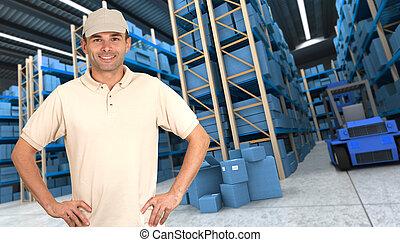 倉庫, 商品, b, レセプション
