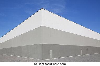 倉庫, 外面