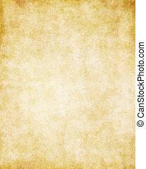 偉人, 古い, 手ざわり, ペーパー, 背景, 羊皮紙