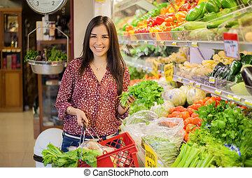 健康に良い食物, 店, 購入