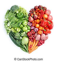 健康に良い食物, 緑の赤