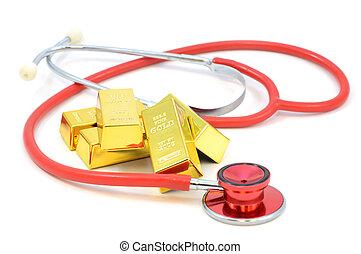 健康, 金塊, 金