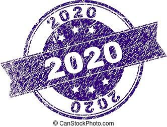 傷付けられる, 切手, textured, 2020, シール
