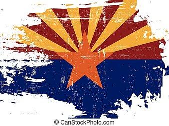 傷付けられる, 旗, アリゾナ