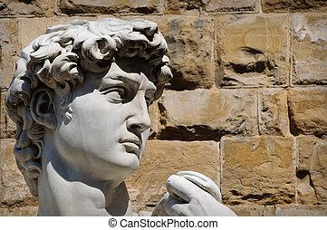 像, david, イタリア, フィレンツェ