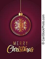 優雅である, デザイン, クリスマスカード