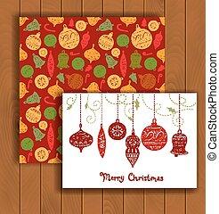 優雅である, 封筒, クリスマスカード