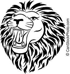 入れ墨, ライオン