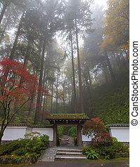 入口, 日本の庭