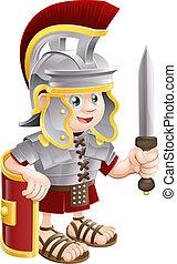 兵士, ローマ人, 剣