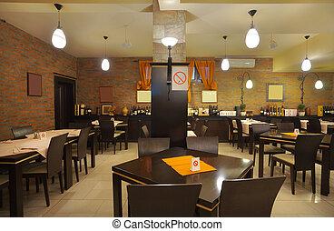 内部, レストラン
