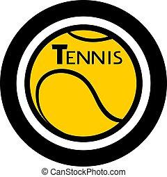 円, シンボル, テニス