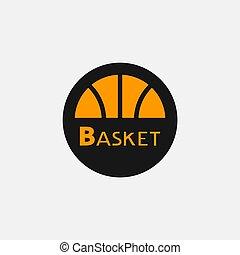円, バスケットボール, シンボル