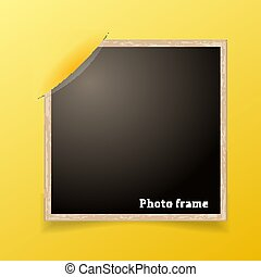 写真, frame., デザイン, decoretive, template., グランジ, ボーダー