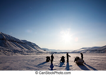 冬の景色, 冒険