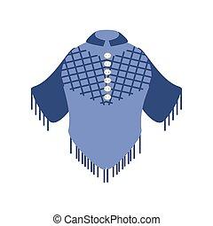 冬, 編まれる, 上着類