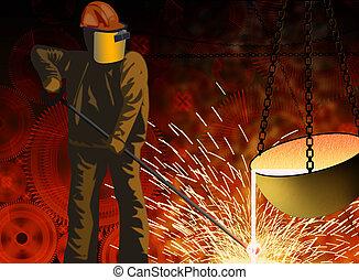冶金学, 産業