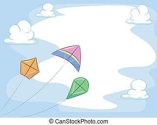 凧, 背景