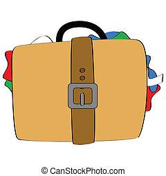 凸状である, 手荷物