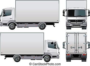 出産, /, トラック, 貨物