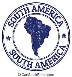 切手, アメリカ, 南