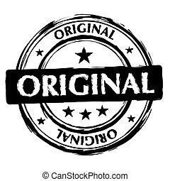 切手, オリジナル, インク