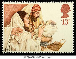 切手, クリスマス