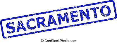 切手, シール, 長方形, サクラメント, フレーム, 円形にされる, unclean, スタイル